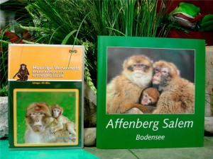 Affenberg Salem DVD und Infobroschüre